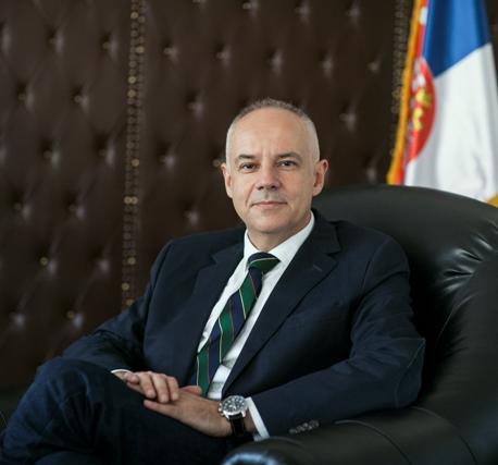 Profesor doktor Zoran Radojičić, gradonačelnik Beograda